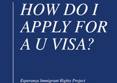 Power Point Explaining U Visas – English