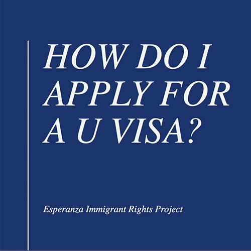 Power Point Explaining U Visas – English
