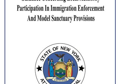 Guidance Concerning Local Authority Participation In Immigration Enforcement and Model Sanctuary Provisions