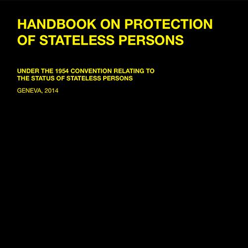 Handbook on Statelessness