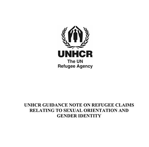 UNHCR Guidance on LGBT Refugees 2008