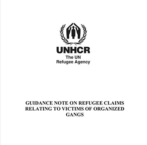 UNHCR Refugee Guidance on Gang Violence