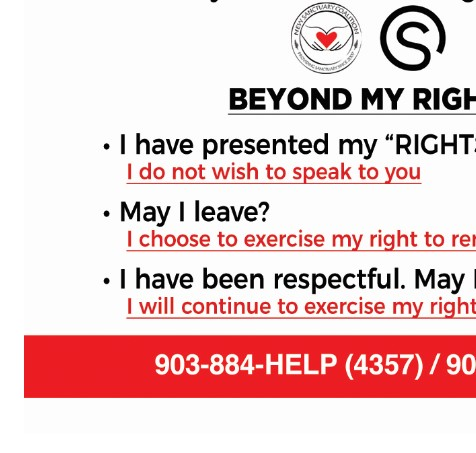 NSC Beyond My Rights Card